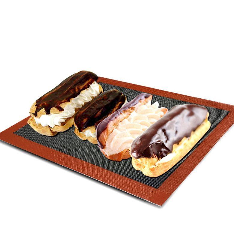 Non-stick ventilate bread baking mats
