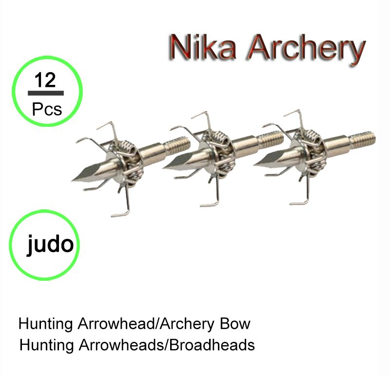 Hunting Arrow Points Broadheads for Small Animal Game Archery Bow New