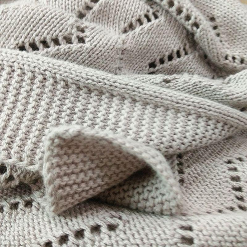 grey throw blanket