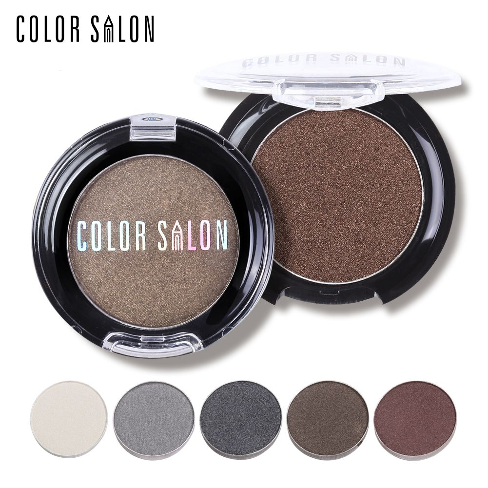 Color Salon Shimmer eyeshadow Palette 12Colors Pigment Eye Shadow Makeup Professional Brand Beauty Make Up Cosmetic