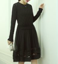 Brand BOOHOO 70% cotton 30% polyester lady dresses can be customized style easy to wear comfortable high quality