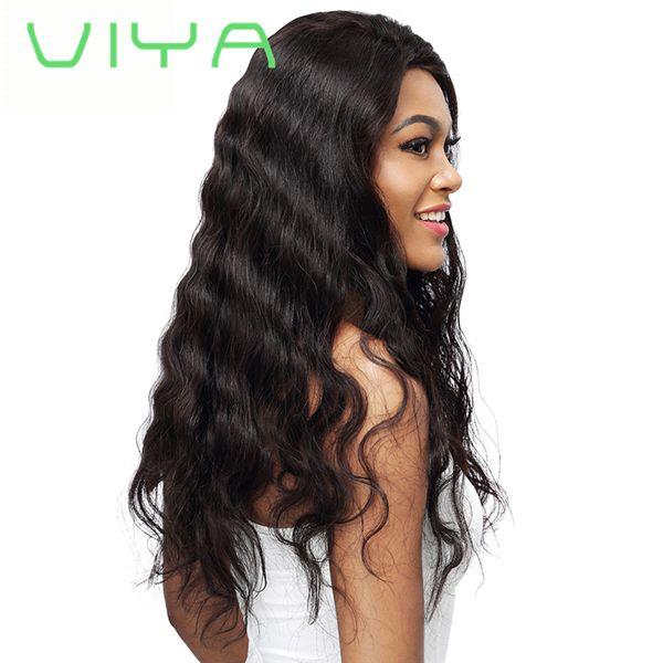 VIYA Malaysian Virgin Hair Body Wave Human Hair Weave Bundles 3 PC Inch Natural Color Unprocessed Human Hair WY905L