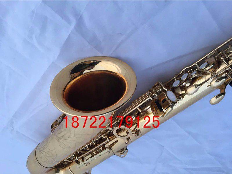 Hot France Selmer 54 B flat Sax Tenor saxophone high-grade gold Tenor music quality assurance free shipping
