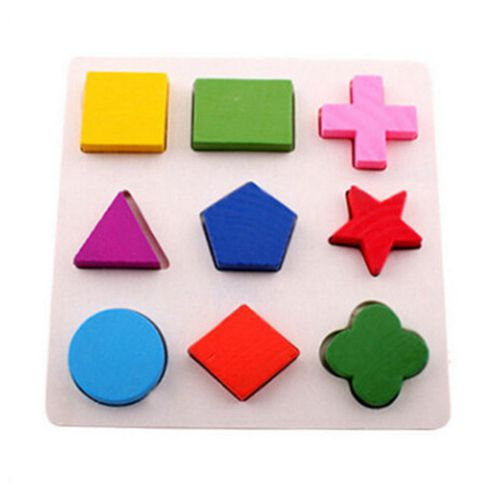 Stereo Wooden Puzzles For Children 2 4 Years Old 3d Puzzle Jigsaw