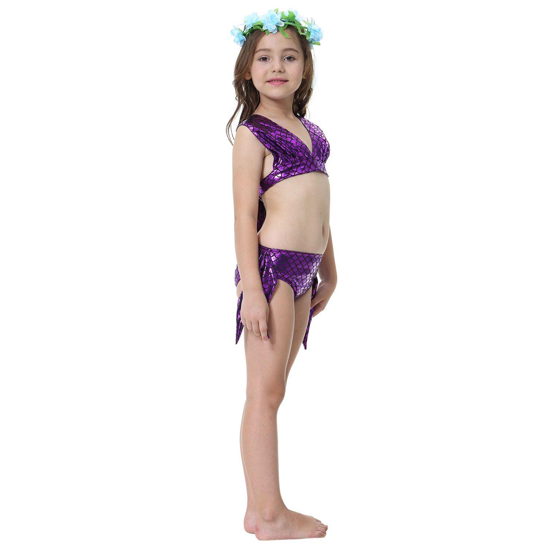 964add6d252 Mermaid Swimsuit for Baby Girl Mermaid Tail Bikini Suit Swimwear INS Hot  Selling Swim Swimming Bathing ...