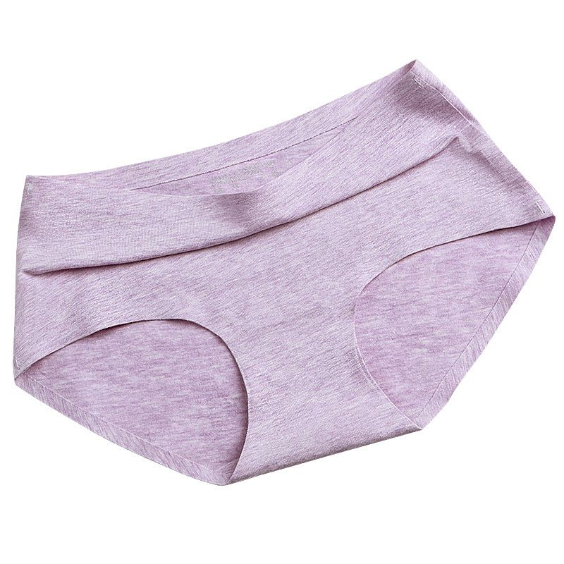 Sexy Cotton Women Panties Breathable And Comfortable Briefs Lovely Girls Underwear Candy Color Multicolor Lingerie Wholesale 837