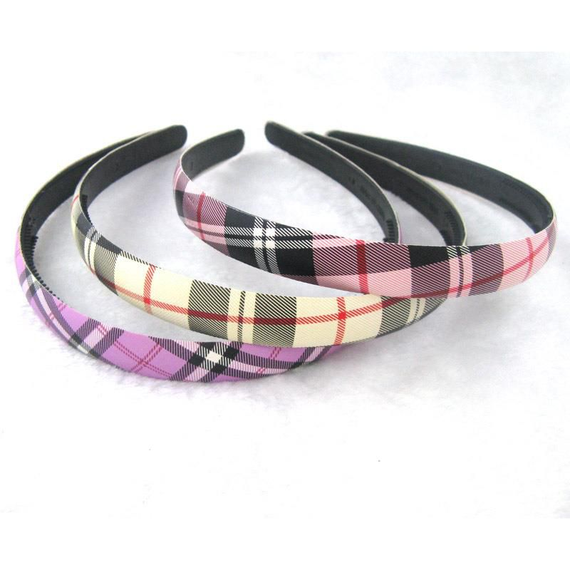 a Plastic hair band can be customized practicaldurablestrong