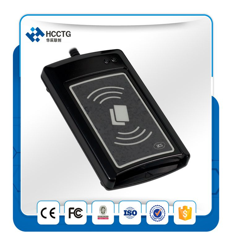 All In One ISO7816 ISO14443 Triple DualBoost Contact and Contactless Smart NFC Rfid Card Reader ACR1281U-C1