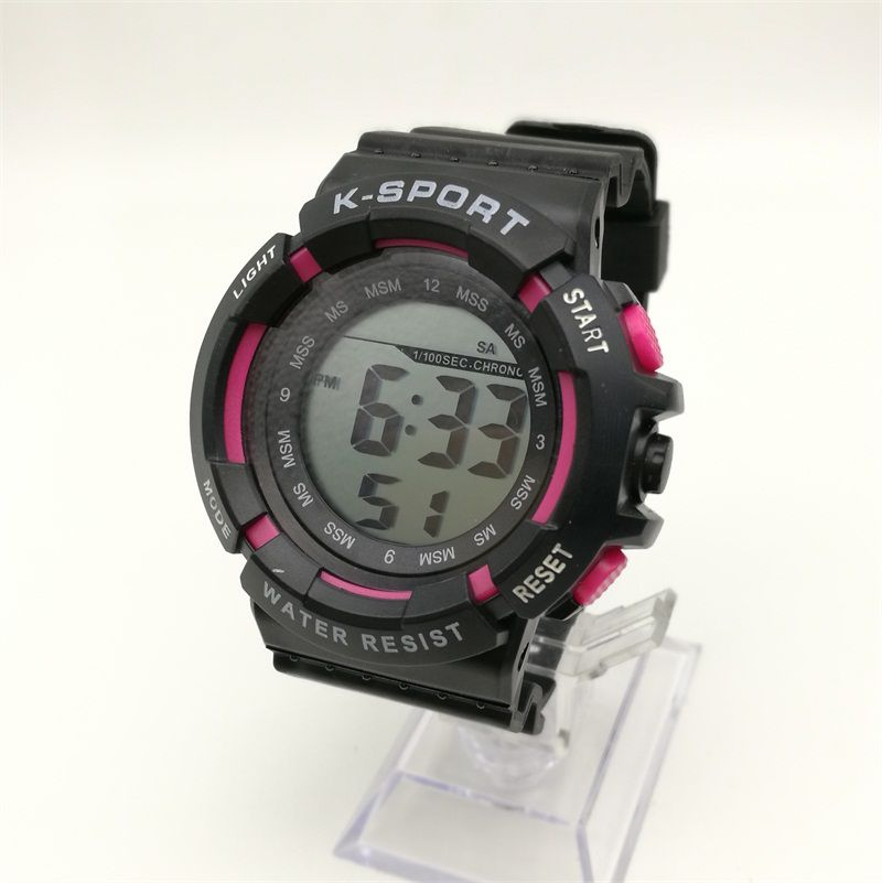 M620 LED Cold Light Watch Sports Military Outdoor Running Seconds Alarm Clock Watch Men's PU Strap Watch Factory Direct