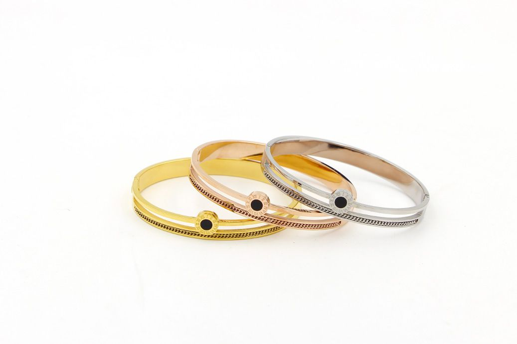 stainless steel fashion Bracelet stainless steel hollow out Cuff Bangle New Fashion Jewelry