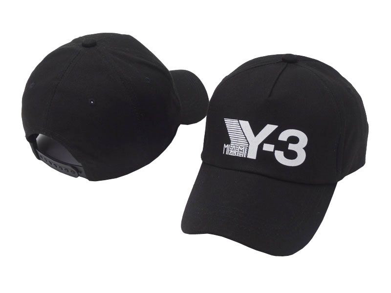 4ff5ea652a1f4 2018 New Y-3 Dad Hat Big Bold Embroidered Logo Baseball Cap Adjustable  Strapback Hats