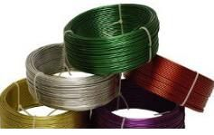 Ferrous wire is good looking and useful. It's worth buying and customizing.