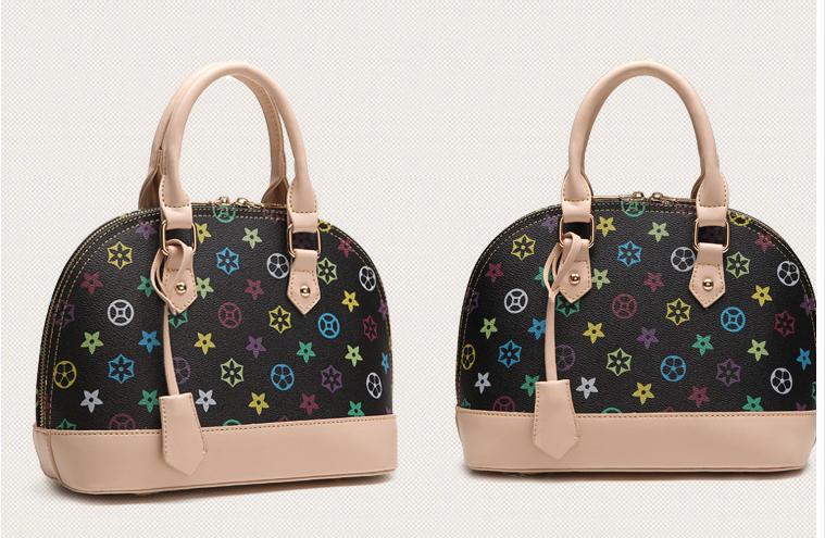 Female handbags 2015 Women shoulder bags high quality genuine bag famous brands women leather handbags bag ladies free shipping