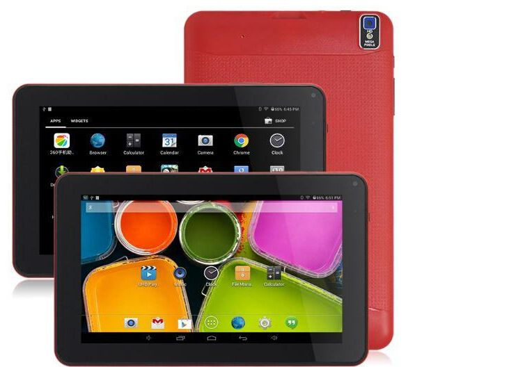 Tablet pcs 9inch quad core HDMI Android 4.4 Tablet PC 512MB 8GB 1.5GHz Allwinner A33 Bluetooth Dual Core