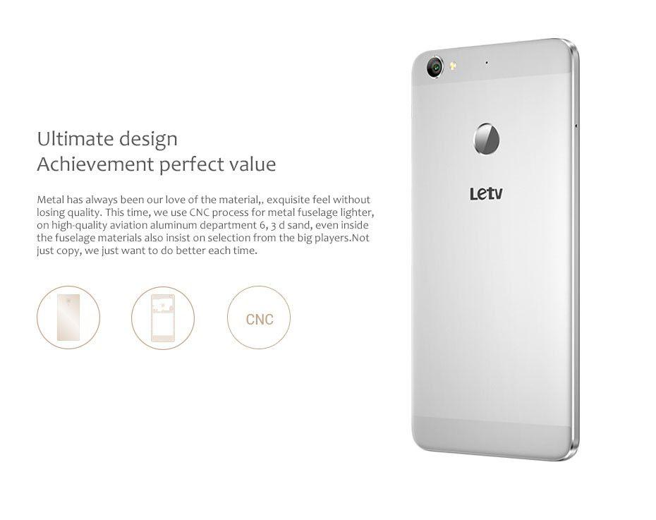 "Original 5.5"" Letv LeEco 1S X500 4G LTE Android 5.1 MTK Helio X10 Octa Core 3GB 16GB 13.0MP Camera 1920x1080 Cell Phone"
