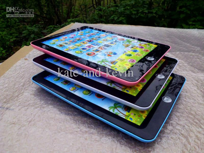 Children Ipad 2/3 laptop computer learning machine Kid Funny educational toy Toys Ypad
