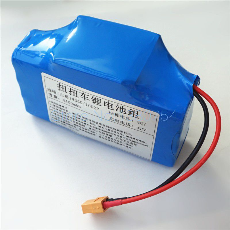 36V SAMSUNG Electric Scooters Battery with 4400mAh 4.4AH Dynamic Lithium-ion Rechargeable Batteries