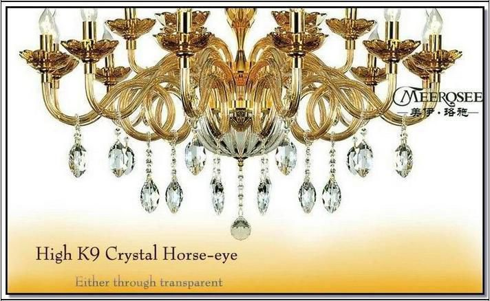 Promotion Large Crystal Chandelier Lamp With 18 Arms Authentic Cristal Chandelier Lustre PendelleuchteMD68118