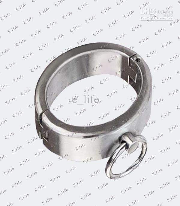 1pcs Male/Female Ellipse Stainless Steel Heavy Duty Wrist Restraints Ovoid Olivary Oval Shaped