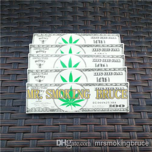 retail free shipping Dollar smoking rolling paper KING size 110*54mm 32leaves/booklet sell well