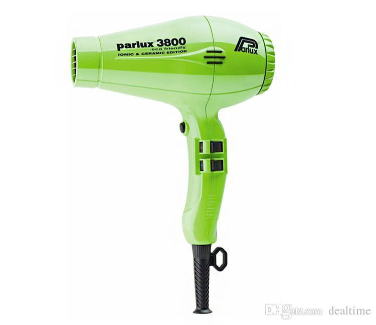 Fashion Pro 3800 Professional Hair Dryer High Power 2100W Ceramic Ionic Hair Blower Salon Styling Tools US EU AU Plug 110V-220V
