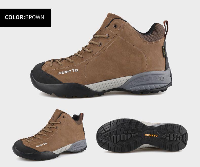 815b139a3eb HUMTTO Hiking Shoes Men Warm Winter Outdoor Climbing Boots Walking ...
