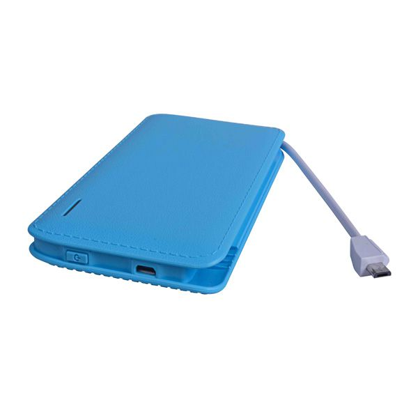 6 new colors, with Micro wire, output with iOS adapter, 6000MAH polymer core, mobile power supply