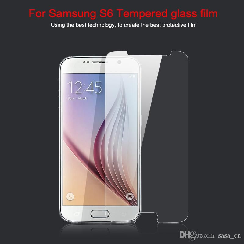 S7 Premium Tempered Glass 0.33mm 2.5D Film Screen Protector for Samsung Galaxy S7 S6 S5 S4 Note 4 i9300 i9500 n7100