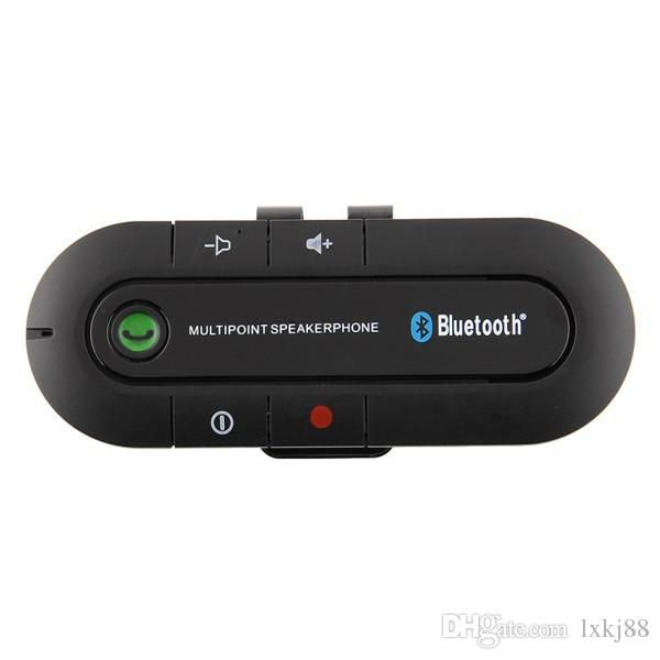 Universal Bluetooth Handsfree Speaker Phone + Car Charger Kit For Mobile Phone