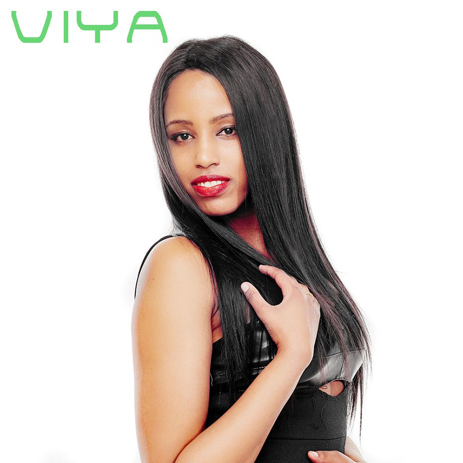 Straight Virgin Hair Malaysian Hair Weave Bundles Human Hair Natural Color WY830C