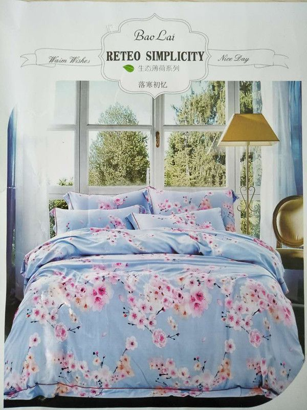 Sweet Garden New fasion modal Summer cool bed cover