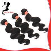 human hair natural black color bundle hair Brazilian virgin Human hair weave