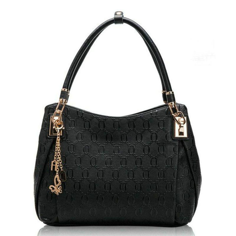 bce3139dfc New Arrival Women Luxury Handbag Lady Genuine Leather Handbag Luxurious  Designs Cowhide 4 Colors Free Shipping