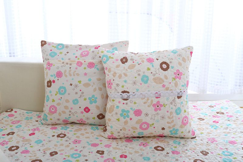 2018 new kind hot sale 100%cotton floral skidproof four seasons of sofa cover set