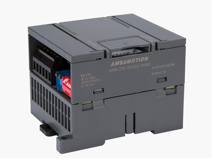 AMSAMOTION Extension Module Suitable Siemens S7-200 Analog