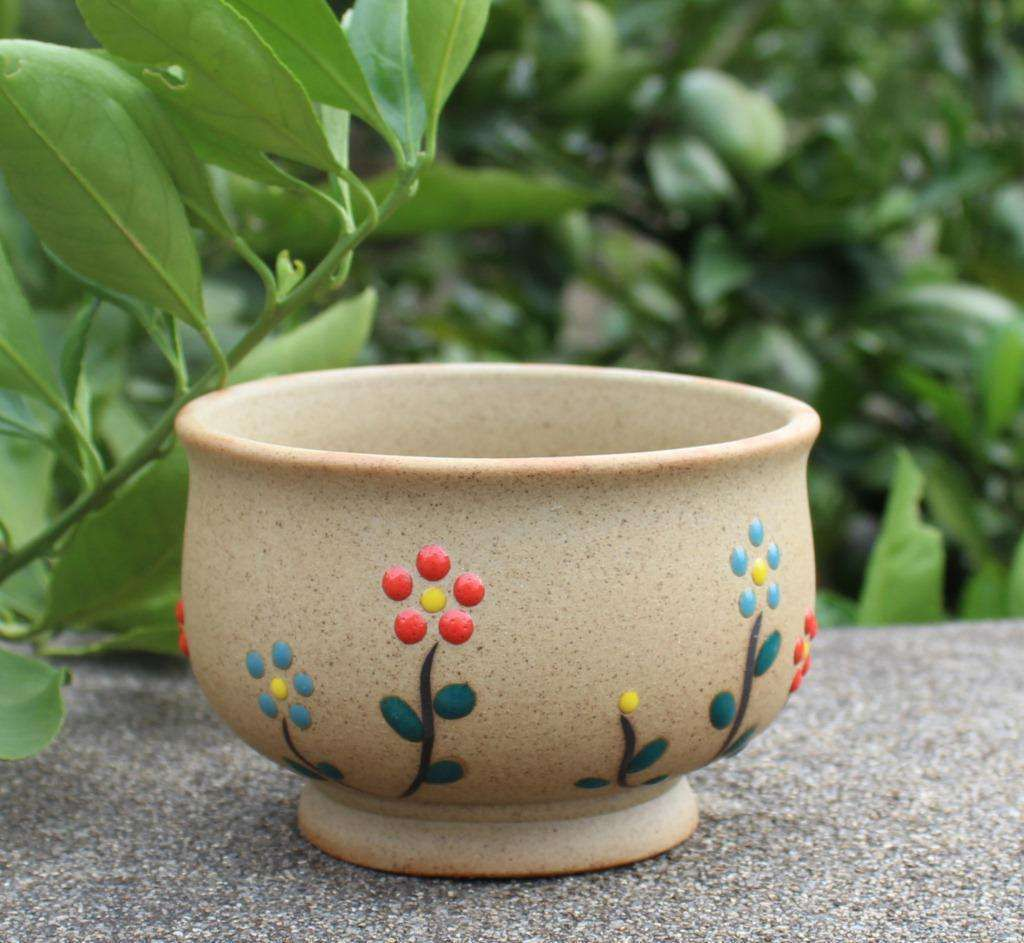 Stone flower pot Stone flower pot Can be customized practical durable strong