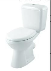 wash down two piece p-trap toilet