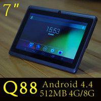 "2016 HOT 7"" A33 Quad Core Q88 Tablet Allwinner Android ..."
