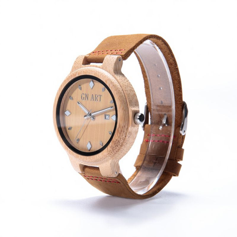 2017 New arrival men quartz watch with wooden movt watches wholeasle