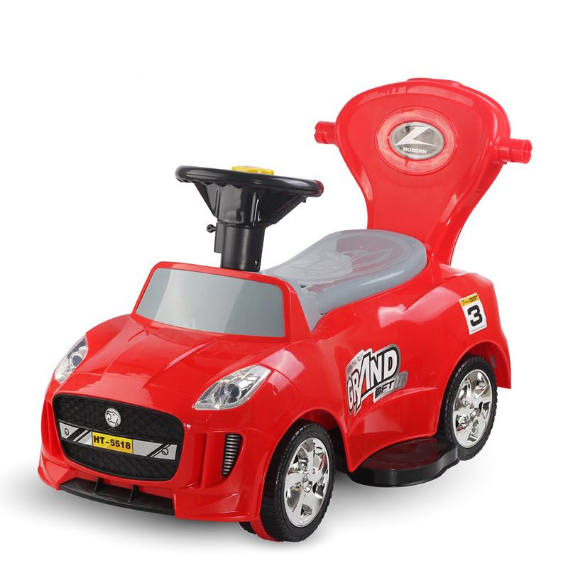 HT-5518 plush ride on car