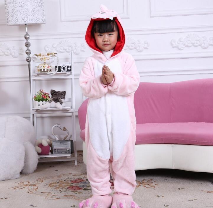 Children Onesie Cosplay Kids Boys Girls Pajamas Christmas Totoro unicorn Pikachu Dinosaur Panda pyjama Animal Baby Sleepwear KD-010