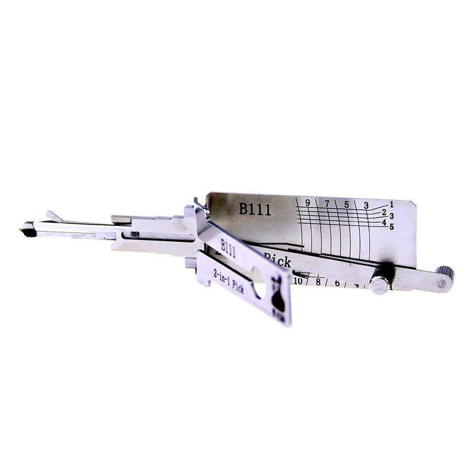 Mr. Li's Original Lishi B111 2in1 Decoder and Pick - Best Automotive Locks Unlock Tools on the Market
