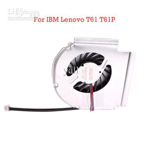 Laptop CPU Fan Laptop Cooling Fan For IBM Lenovo T61 T61P 30pcs/lot N00928