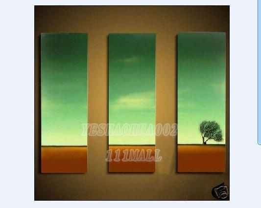 beach sea sunset sunrise oil painting Small wholesale Modern abstract art canvas adornment A17