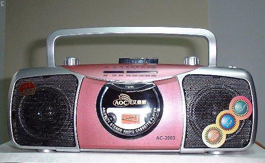 speaker and radio S207