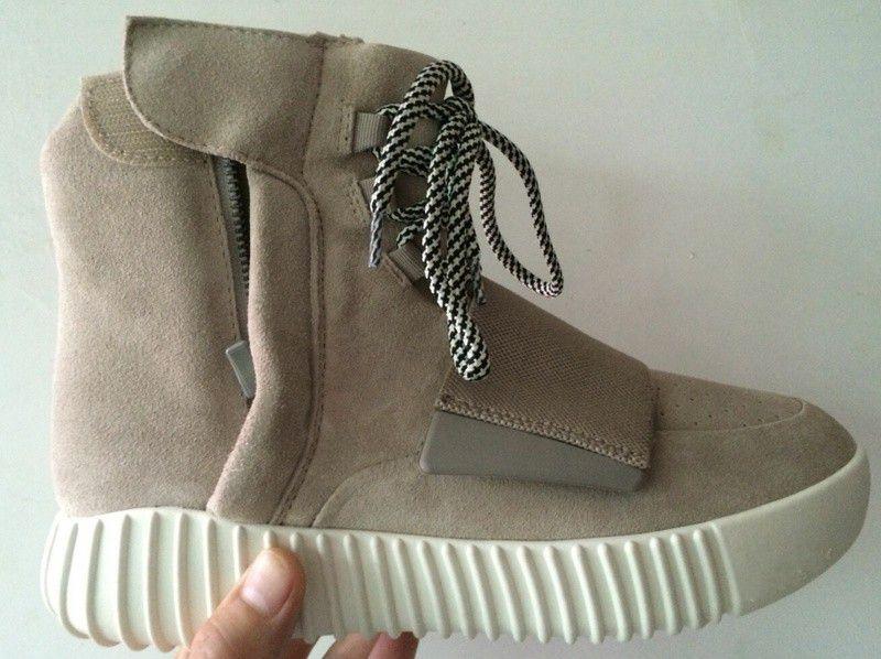 82d91b2402134 2016 West Yeezy 750 Boost Low Grey Shoes Men Women PrimeKnit Casual shoes  Breathable .