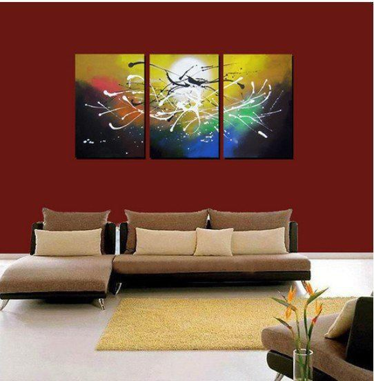 from artist YP66 Art handmade abstract oil painting on canvas modern 100% handmade original directly