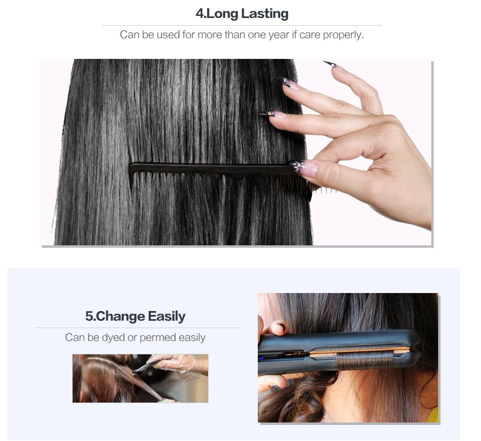 VIYA Brazilian Virgin Hair Loose Wave Hair Weave 3 Bundles Unprocessed Loose Wave Virgin Human Hair Weave Natural Black Color WY901D