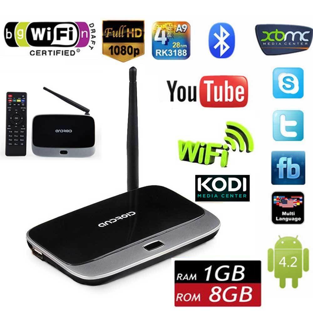 Original Q7 CS918 MK888 K-R42 Quad Core android TV BOX stick
