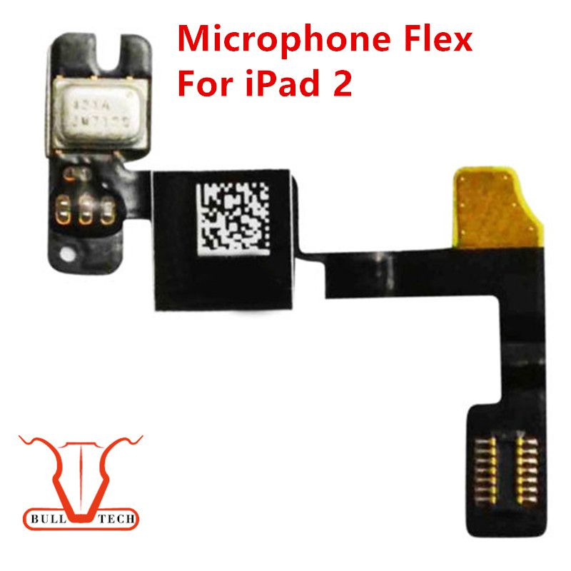 Microphone Mic Ribbon Flex Cable Replacement For ipad 2